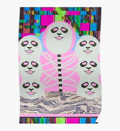 Pretty Panda Pop Trip Poster