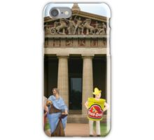 Cut….CUT!!! You're auditioning for the part of PLATO!!!!! iPhone Case/Skin