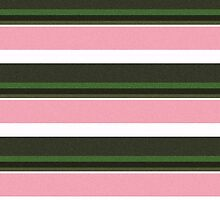 Pink Roses in Anzures 3 Stripes 5H by Christopher Johnson