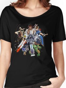 Street Figher X Gamer Geek Nation Women's Relaxed Fit T-Shirt