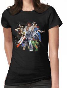 Street Figher X Gamer Geek Nation Womens Fitted T-Shirt