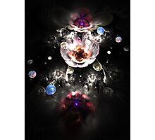 Pearls and flowers Photographic Print