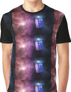 The Tardis and other wibbly wobbly timey wimey stuff. Graphic T-Shirt