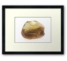 Baked Potato  Framed Print