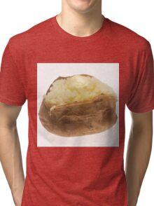 Baked Potato  Tri-blend T-Shirt