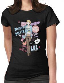 Cutie Butt Yoosung Womens Fitted T-Shirt