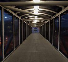 Amtrak Walkway, Corona, California by Stephen Burke