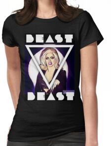 Beast ! Womens Fitted T-Shirt