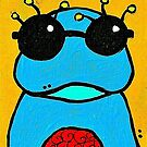 Frog with Glasses by Casey Virata