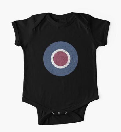 Vintage Look WW2 British Royal Air Force Roundel One Piece - Short Sleeve