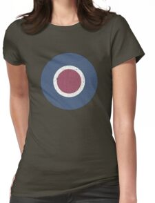Vintage Look WW2 British Royal Air Force Roundel Womens Fitted T-Shirt