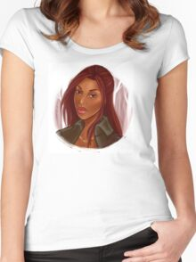 Sleepy Hollow - Abbie Mills Women's Fitted Scoop T-Shirt