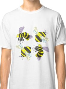2 Bee Montage design pattern Classic T-Shirt