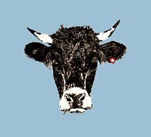 swiss-cow Womens Fitted T-Shirt