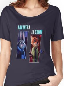 Zootopia Partners Women's Relaxed Fit T-Shirt