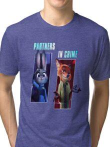 Zootopia Partners Tri-blend T-Shirt