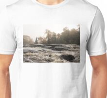 Whiskey River - Rough Rapids and Soft Fog Unisex T-Shirt
