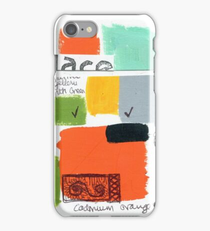 painting not made 2 iPhone Case/Skin