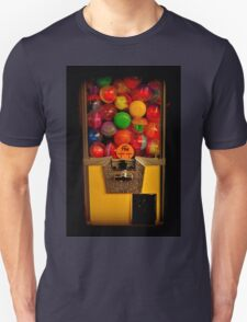 Gumball Machine Yellow - Series - Iconic New York City Unisex T-Shirt