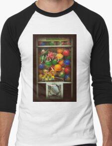 Gumball Machine Series - with Graffiti Burst - Iconic New York City Men's Baseball ¾ T-Shirt