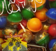 Gumball Machine Series - with Graffiti Burst - Iconic New York City Sticker
