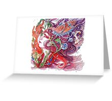 The World Beneath the Surface Greeting Card