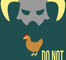 Skyrim Do not kill the chicken by paulaxd