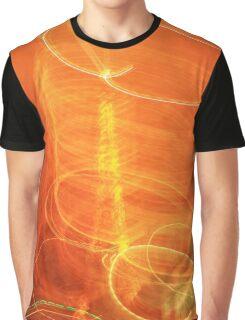 Swirly Eiffel tower  Graphic T-Shirt