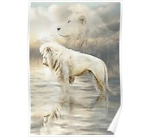 White Lion - Reflection Of Light Poster