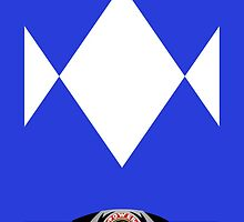 Blue Ranger Galaxy Case by LumpyHippo