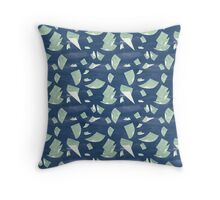 Papers on the Wind Throw Pillow
