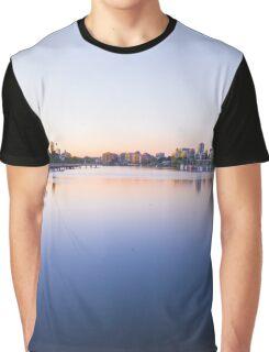 River Sunrise Graphic T-Shirt