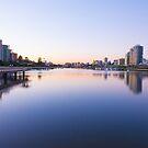 River Sunrise by Darren Freak