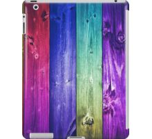 Colored Wood iPad Case/Skin