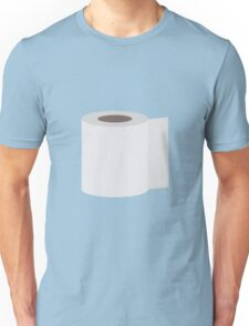 Roll of toilet paper Unisex T-Shirt
