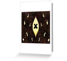 werewolf scarf Greeting Card