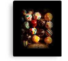 Gumball Machine in Shadow - Series - Hi-Bounce Balls - Iconic New York City Canvas Print