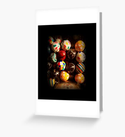 Gumball Machine in Shadow - Series - Hi-Bounce Balls - Iconic New York City Greeting Card