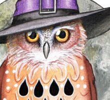 Halloween-Eule Sticker