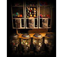 Gumball Memories - Row of Antique Vintage Vending Machines - Series - Iconic New York City Photographic Print