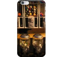 Gumball Memories - Row of Antique Vintage Vending Machines - Series - Iconic New York City iPhone Case/Skin