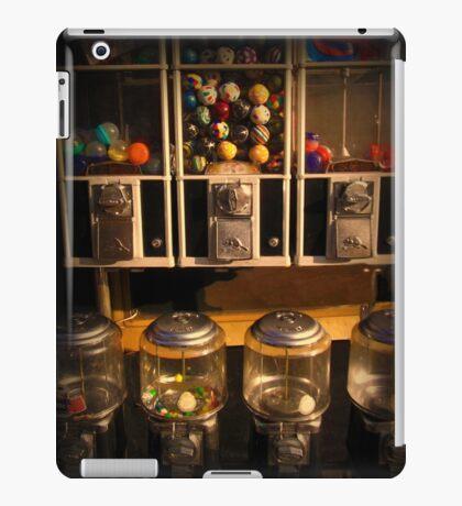 Gumball Memories - Row of Antique Vintage Vending Machines - Series - Iconic New York City iPad Case/Skin