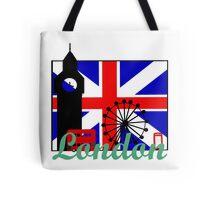 I heart London Tote Bag