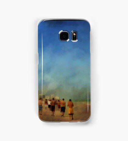 The beach walkers....... Samsung Galaxy Case/Skin