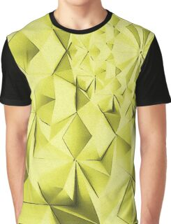 Yellow fractals pattern, geometric abstraction Graphic T-Shirt
