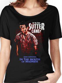 Sutter Cane John Carpenter Horror Movie T-Shirt Women's Relaxed Fit T-Shirt