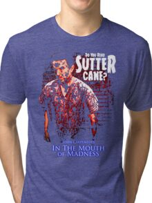Sutter Cane John Carpenter Horror Movie T-Shirt Tri-blend T-Shirt
