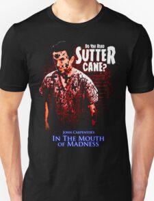 Sutter Cane John Carpenter Horror Movie T-Shirt T-Shirt