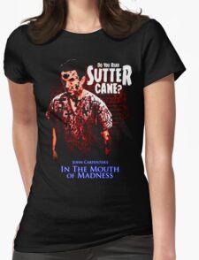 Sutter Cane John Carpenter Horror Movie T-Shirt Womens Fitted T-Shirt
