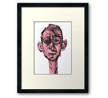 At The Back Of My Mind  Framed Print